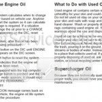 Reset oil service light Pontiac Grand Prix 2008 manual