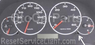 Reset service light indicator Peugeot Boxer Platform 244