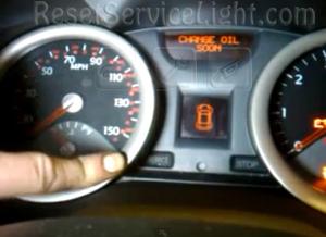 Reset change oil soon Renault Megane 2