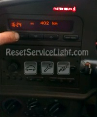 Saab 9-3 first generation clear button