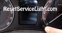 Reset service light indicator Skoda Octavia 2