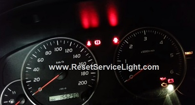 Change the display to odometer using the tripmeter reset button Land Cruiser