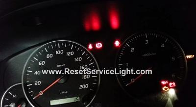 Reset T-Belt service light Toyota Land Cruiser J200 series