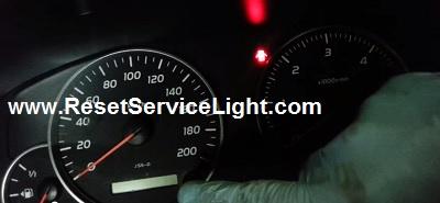 Reset service light Toyota Land Cruiser