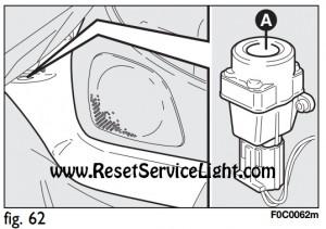 Fiat Stilo fuel cut-off switch