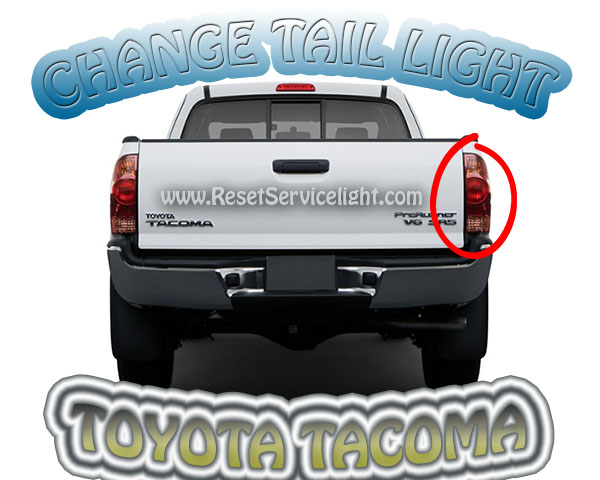 Replace the tail light on Toyota Tacoma