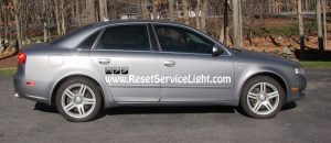 How to replace the coolant recovery tank on Audi A4 B7
