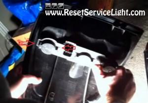 how to service the light bulbs on Chrysler T&C 2002
