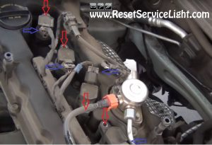 disconnect and remove the engine coils on Hyundai Sonata