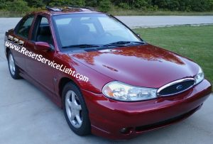 How to change the battery on Ford Contour 1996-2000