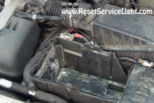 replace the battery on Ford Contour