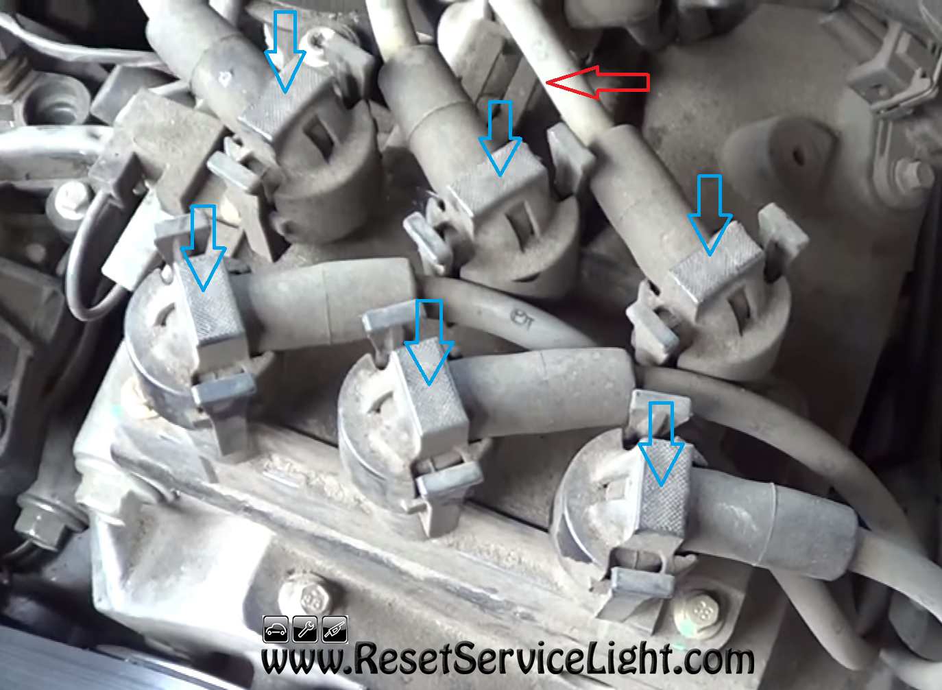 05 Ford Explorer Spark Plug Wire Center Problems Diy Change The Ignition Coil On 2001 2005 Reset Rh Resetservicelight Com Changing Plugs Problem