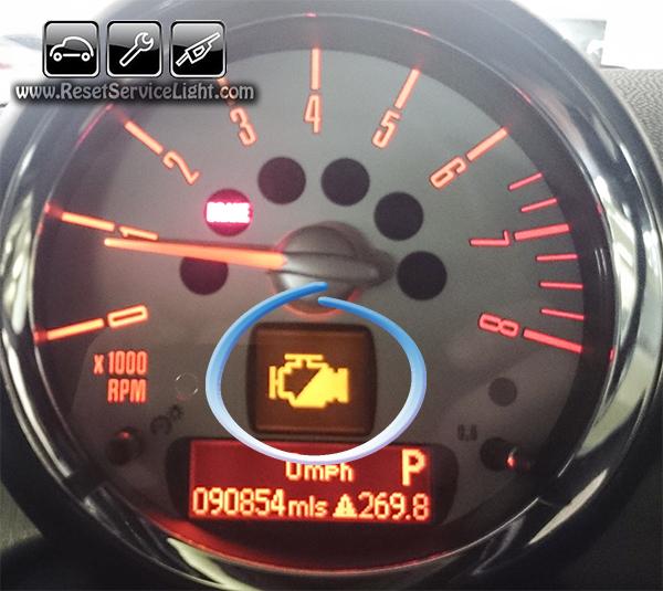 Sr20det Check Engine Light: Reset Check Engine Light Mini Cooper