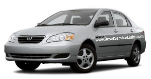 How to replace the spark plugs on Toyota Corolla 2003-2008