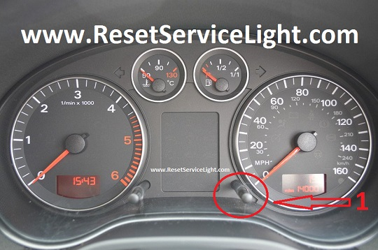 Reset spanner service light Audi S3