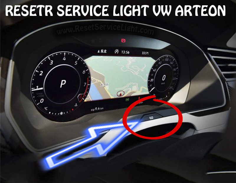 Turn off service indicator VW Arteon