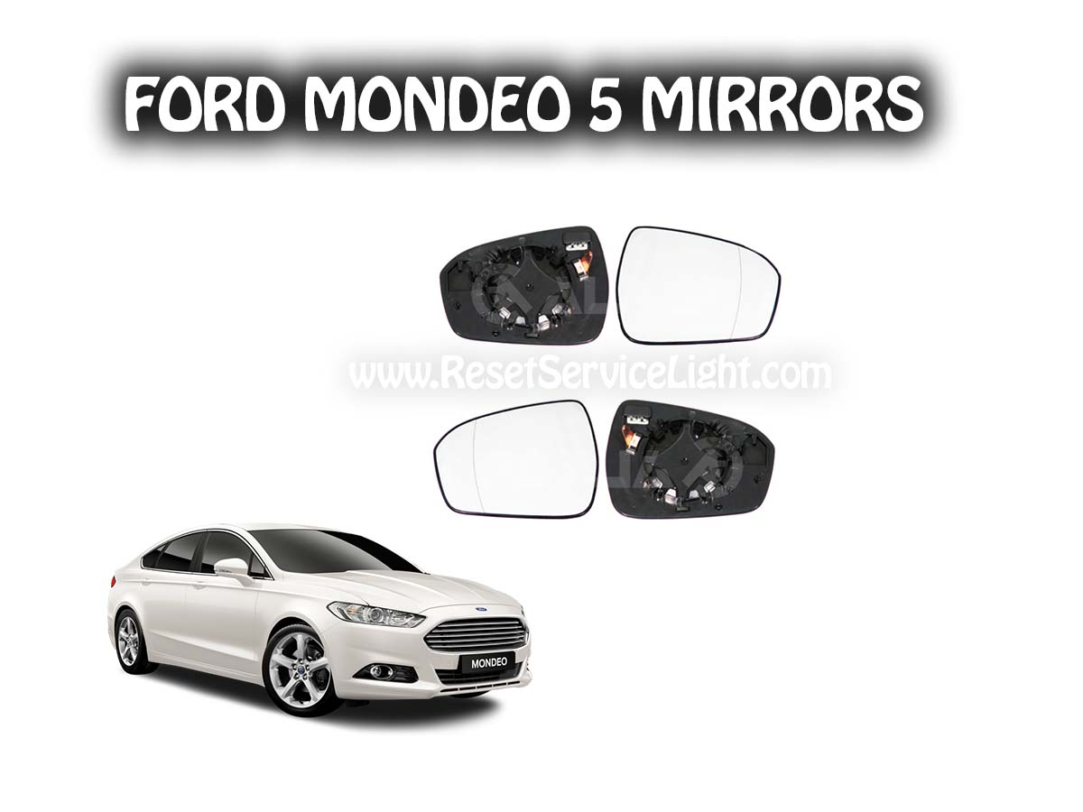Replace mirror glass Ford Mondeo V
