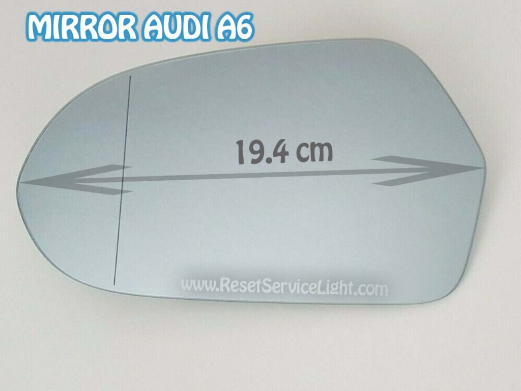 Replace mirror glass Audi A6 C7